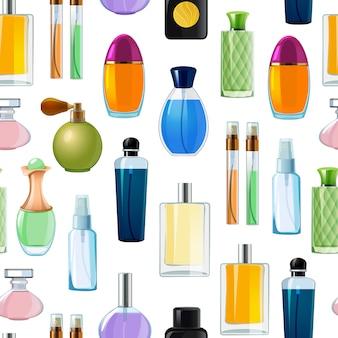Perfume bottles pattern