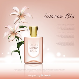 Perfume brand advertisement