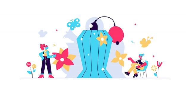 Perfume vector illustration.