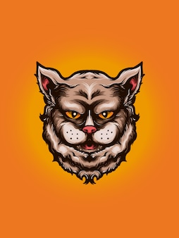 Персидский кот красивый рисунок