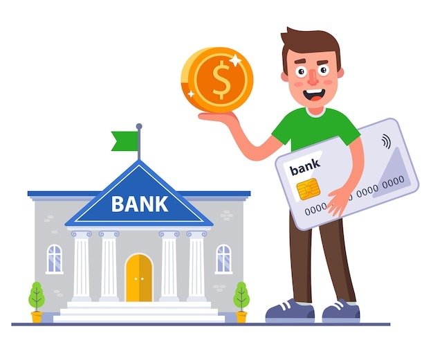 The person received a cashback from his bank card. profitable banking deal.