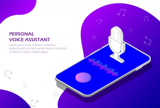Personal assistant and voice recognition on your smartphone