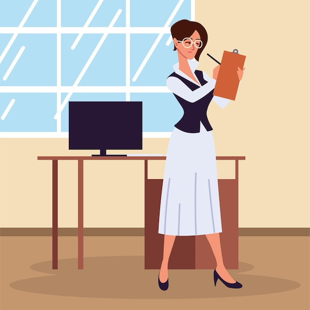 Personal assistant woman