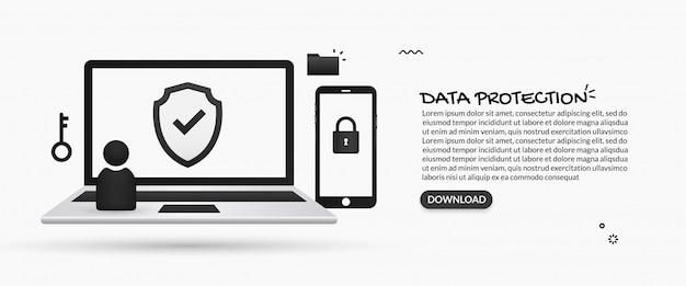 개인 정보 보안 및 데이터 보호 시스템
