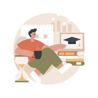 Illustrazione di apprendimento personalizzata
