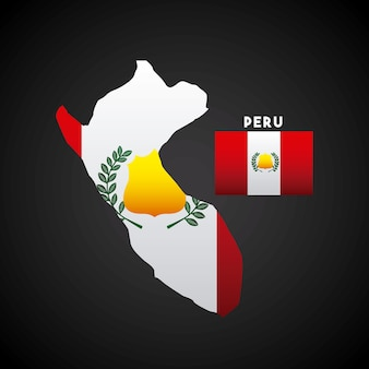 Peru country design
