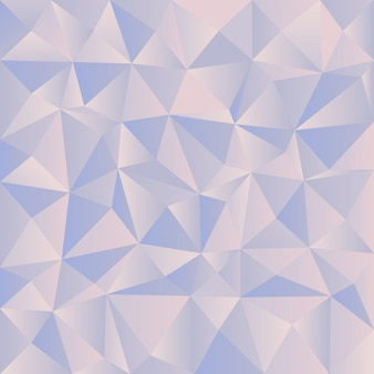 Pestel triangular diamond blue background