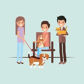 ペットと獣医