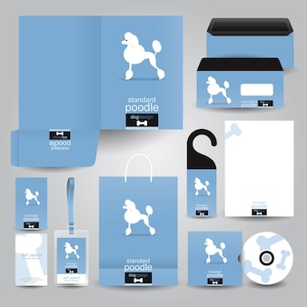Pet business stationery