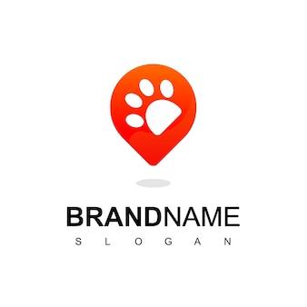 Pet center logo design template