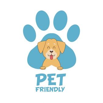 Pet friendly cartoon