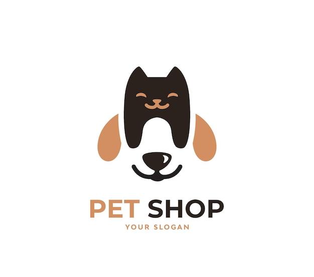 Pet shop brand logo