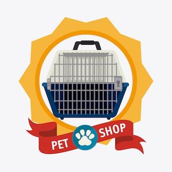 Pet shop design.