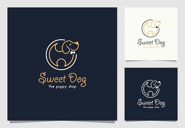 Pet shop logo design inspiration