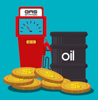 Нефтяная промышленность и цены на нефть