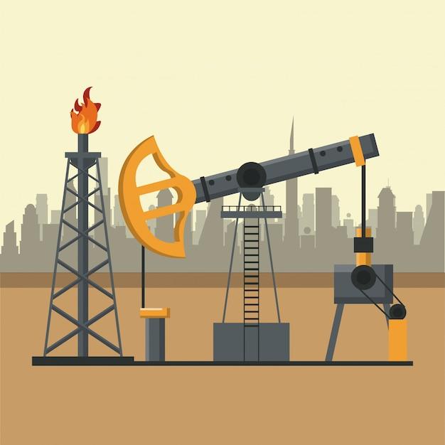 Концепция нефтяной промышленности