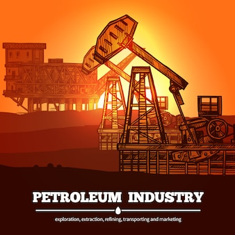 Petroleum industry design concept