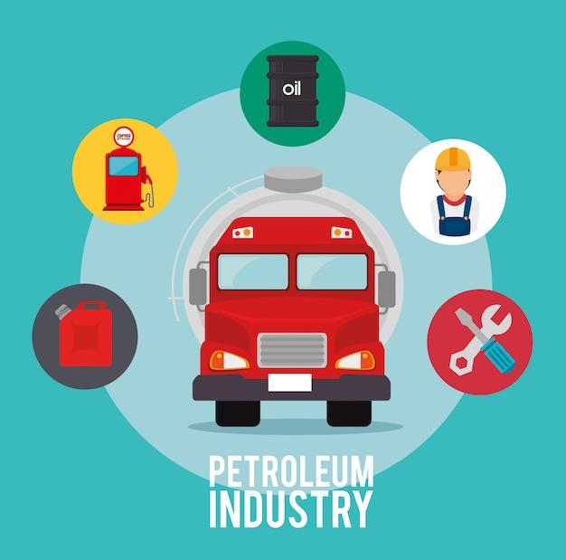 석유 산업 디자인