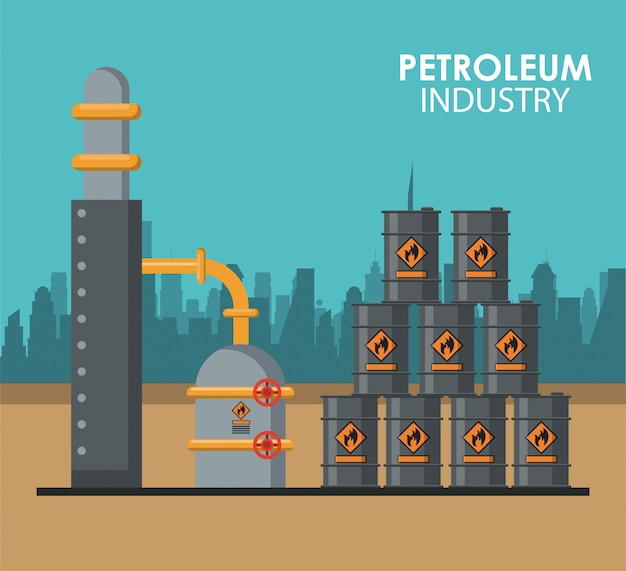 Petroleum industry poster