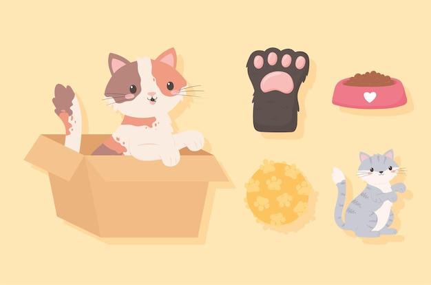 Значки принятия домашних животных
