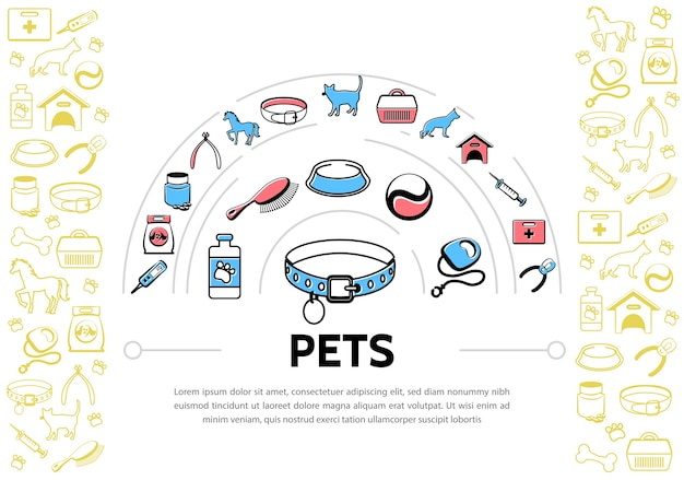 Pets background