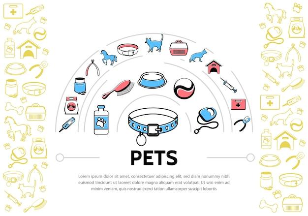 Фон домашних животных