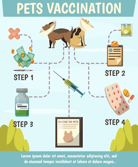 Pets compulsory vaccination orthogonal flowchart