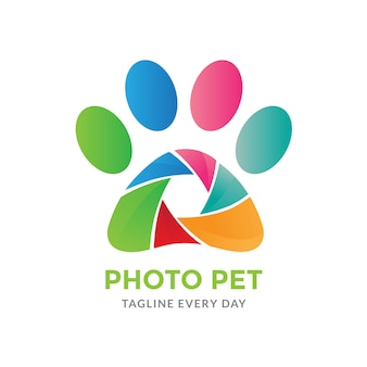 Pets photography logo