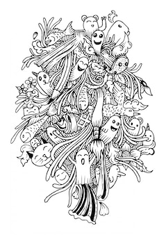 Phantom background design