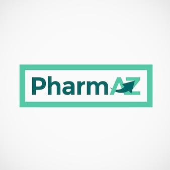 Pharmaceutical az letters logo