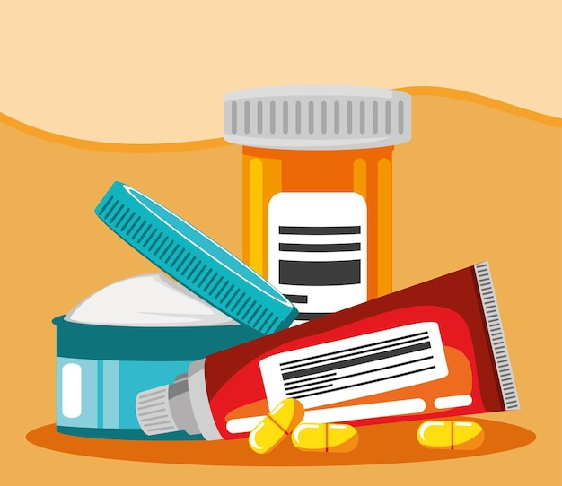 Pharmaceutical medications and ointments products