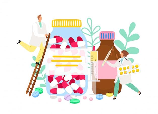 Фармацевт и лекарства