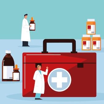 Pharmacist character medicine