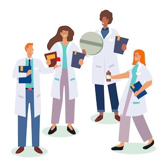 Concetto di raccolta farmacista