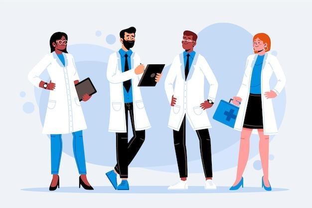 Концепция коллекции фармацевтов
