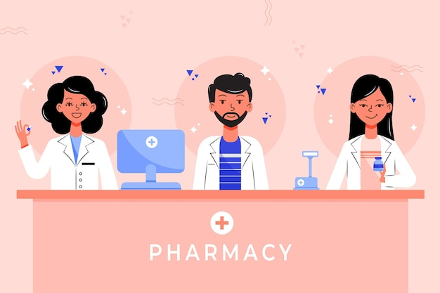 Коллекция фармацевтов