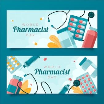Набор баннеров день фармацевта