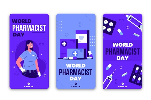 Pharmacist day instagram stories collection