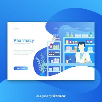 Pharmacy landing page
