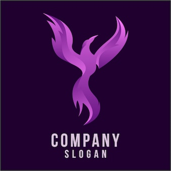 Phoenix 3d logo design