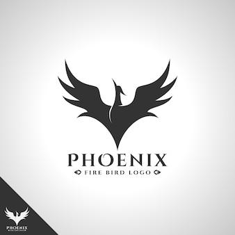 Символ логотипа феникс