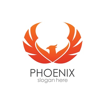 Phoenix wingsロゴテンプレート