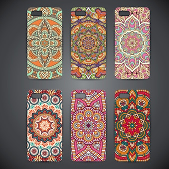 Phone cases with mandalasv