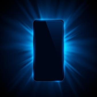 Обложка телефона цвет дизайн современный фон. векторная иллюстрация
