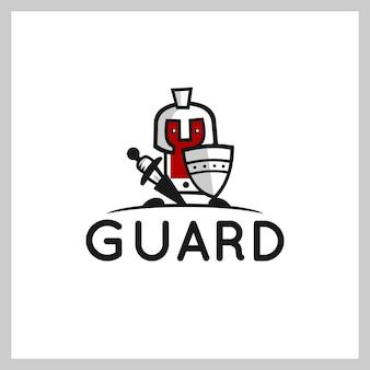 Phone shield logo vector