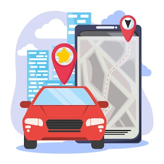 Phone with transport app