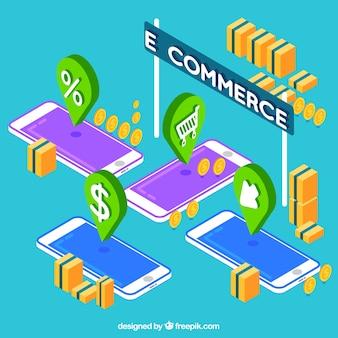 Значки для телефонов и электронной коммерции