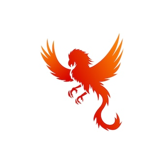 Дизайн логотипа phonix