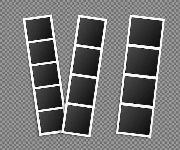Photo booth picture frames set