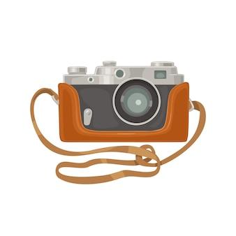 Набор иконок фотоаппарата. векторная иллюстрация плоский